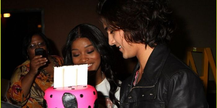 Keke Palmer and Avan Jogia