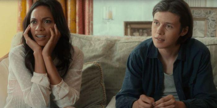 Nick Robinson and Rosario Dawson