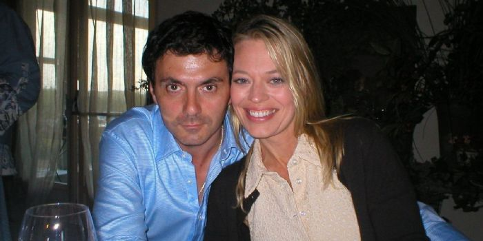 Christophe Émé and Jeri Ryan