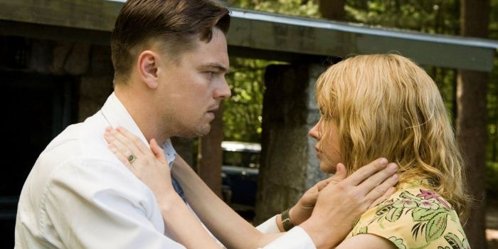 Leonardo DiCaprio and Michelle Williams