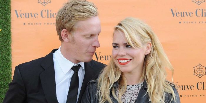 Billie Piper and Lawrence Fox