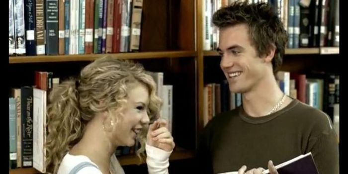 Taylor Swift and Tyler Hilton