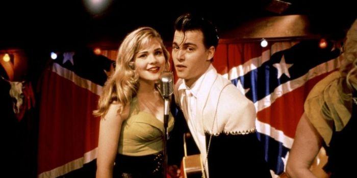 Johnny Depp and Amy Locane