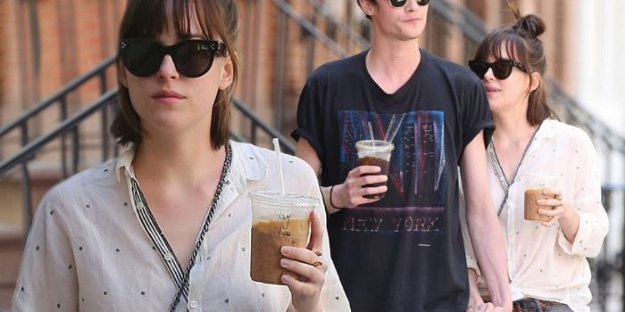 Matthew Hitt and Dakota Johnson