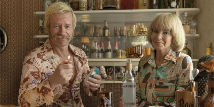 Kylie Minogue and Guy Pearce