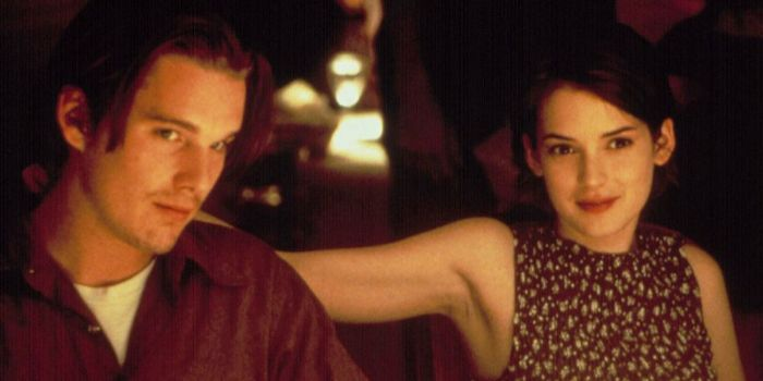 Winona Ryder and Ethan Hawke
