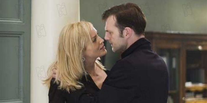 Sharon Stone and David Morrissey