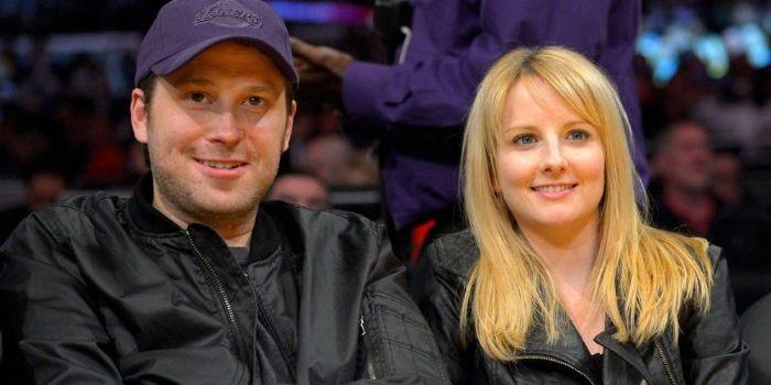 Melissa Rauch and Winston Beigel