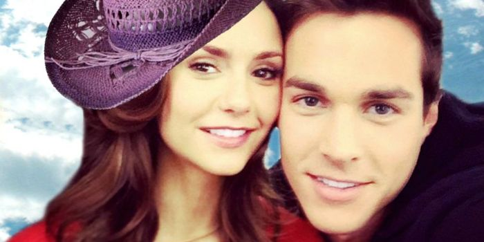Chris wood and nina dobrev dating news
