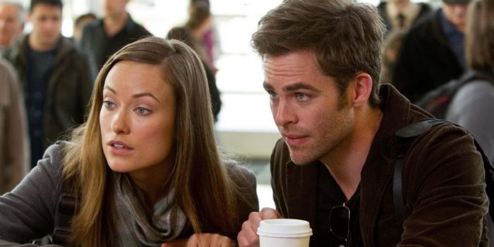 Chris Pine and Olivia Wilde