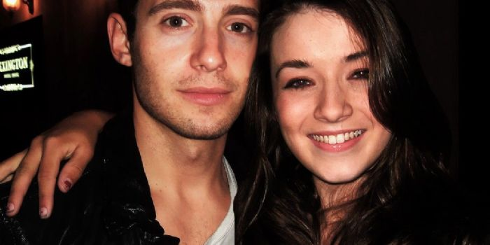 Julian Morris and Sarah Bolger
