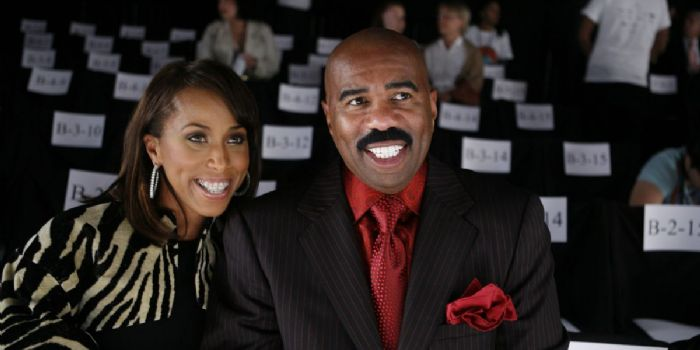 Steve Harvey and Marjorie Bridges