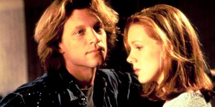 Jon Bon Jovi and Elizabeth Perkins