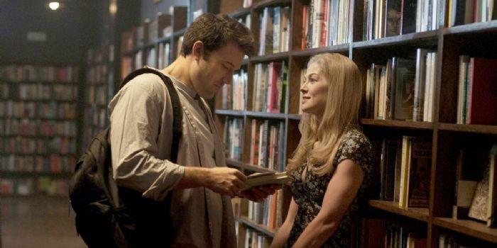 Ben Affleck and Rosamund Pike