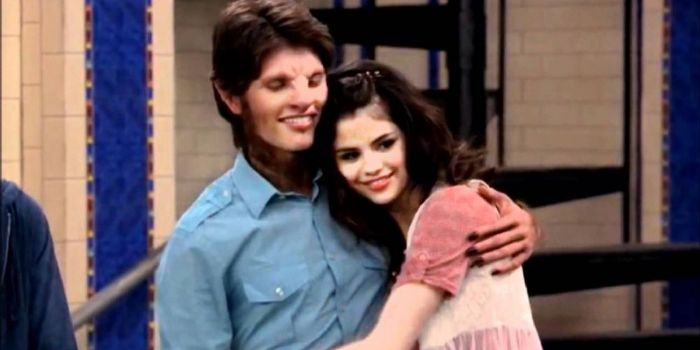 Selena Gomez and Gregg Sulkin