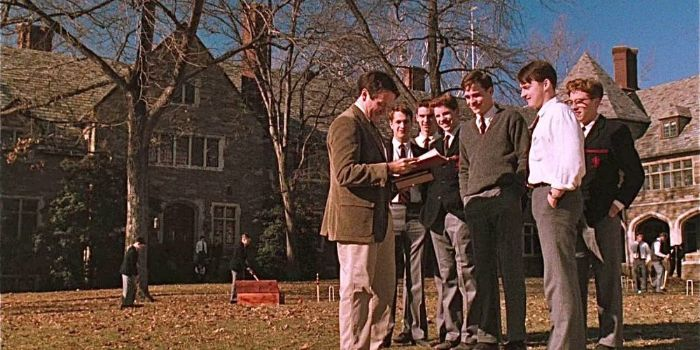 dead poets society crew On the last afternoon of 1988, robin williams is being much too funnyit is not the first time this has happened on the set of dead poets society wholesome as you please in a retro tweed jacket and tie, he is sitting behind a table in the dining hall of st andrew's school near wilmington, delaware.