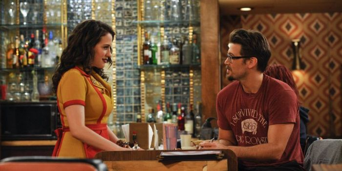 Nick Zano and Kat Dennings