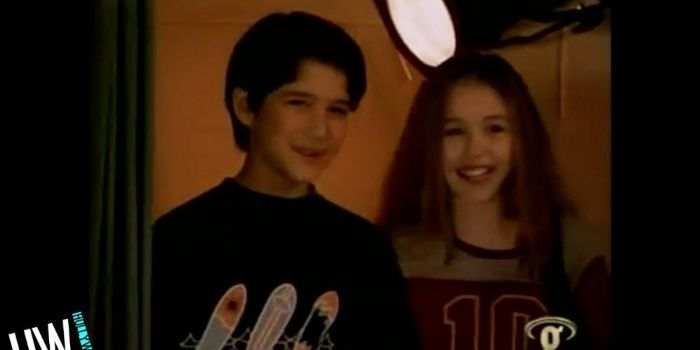 Tyler Posey and Miley Cyrus