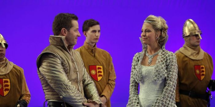 Josh Dallas and Anastasia Griffith