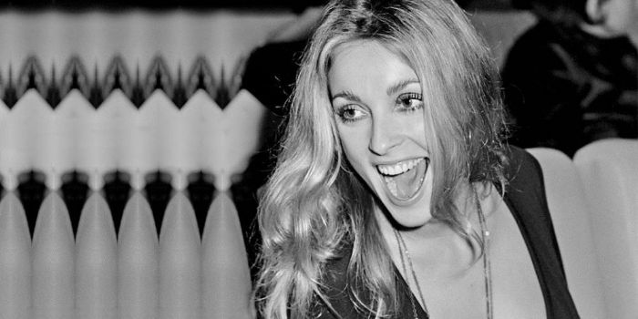 Sharon Tate eyes