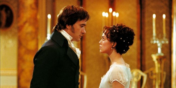 Keira Knightley and Matthew MacFadyen