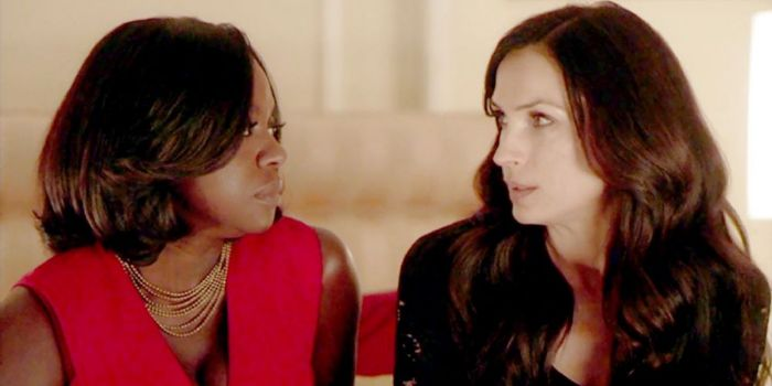 Viola Davis and Famke Janssen