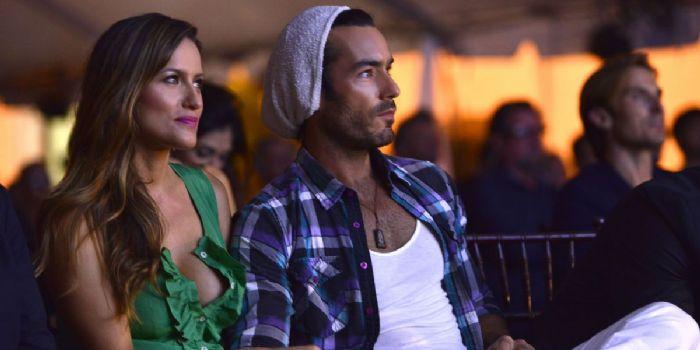 Aarón Díaz and Lola Ponce
