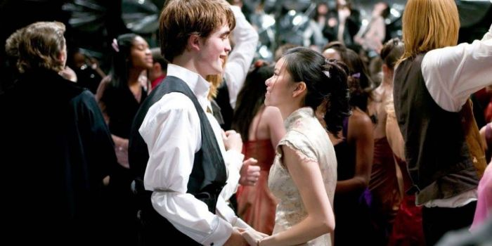 Katie Leung and Robert Pattinson