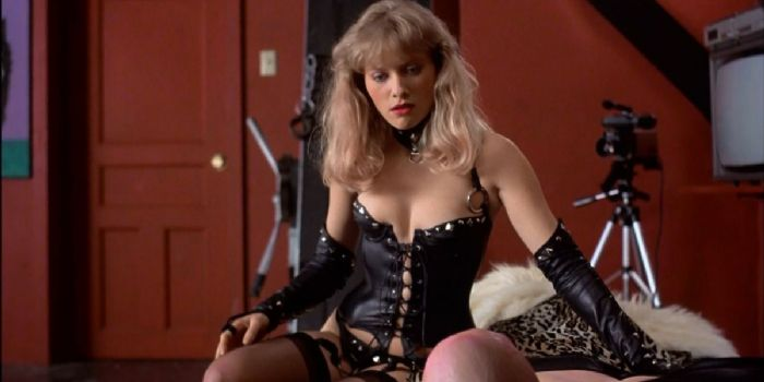 leather Barbara crampton
