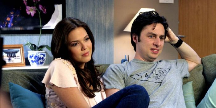 Mandy Moore and Zach Braff