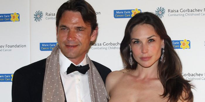 Claire Forlani and Dougray Scott