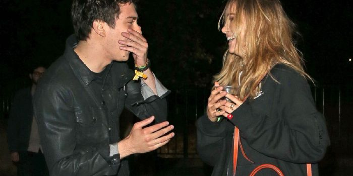 Nat Wolff and Suki Waterhouse