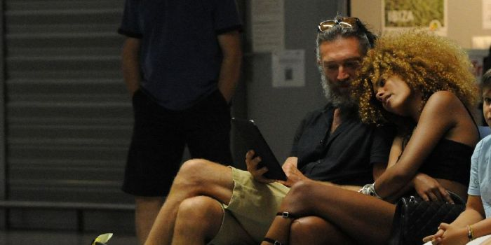 Vincent Cassel and Tin...