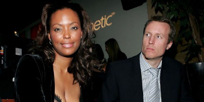 Aisha Tyler and Jeff Tietjens