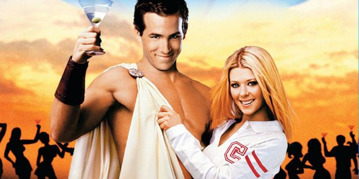 Tara Reid and Ryan Reynolds