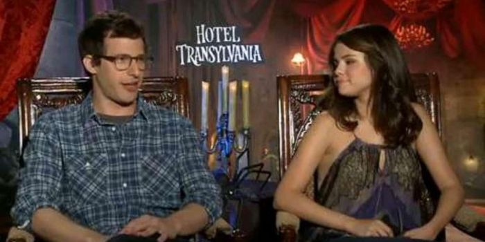 Andy Samberg and Selena Gomez