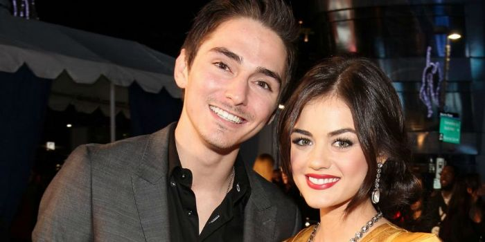 Lucy Hale and Alex Marshall