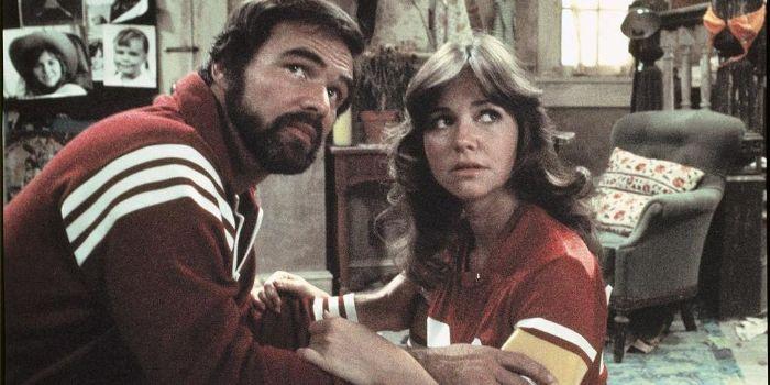Burt Reynolds and Sally Field