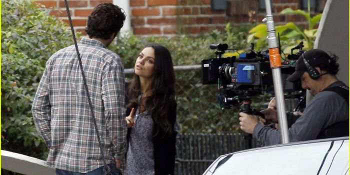 David Walton and Mila Kunis
