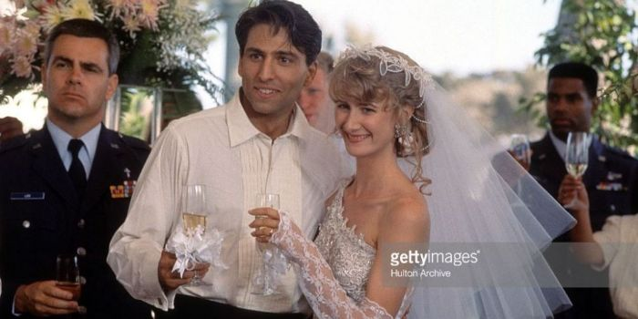 Laura Dern and Vincent Spano