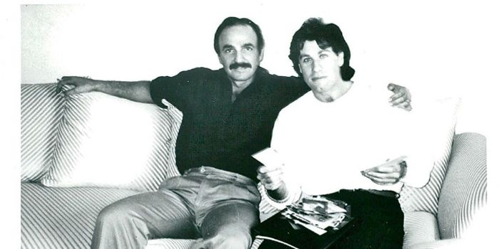 John Travolta and Paul Barresi