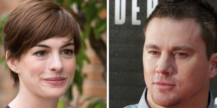 Anne Hathaway and Channing Tatum