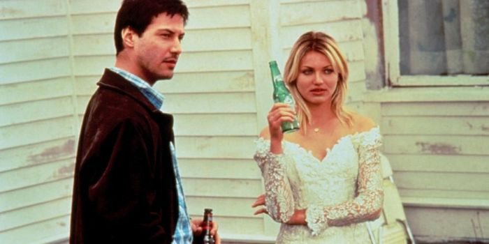 Cameron Diaz and Keanu Reeves