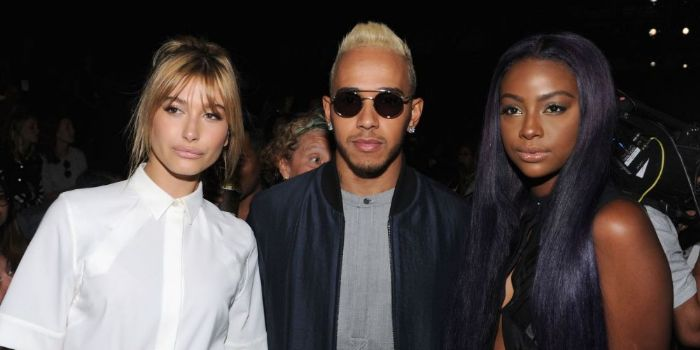 Who is lewis hamilton currently hookup
