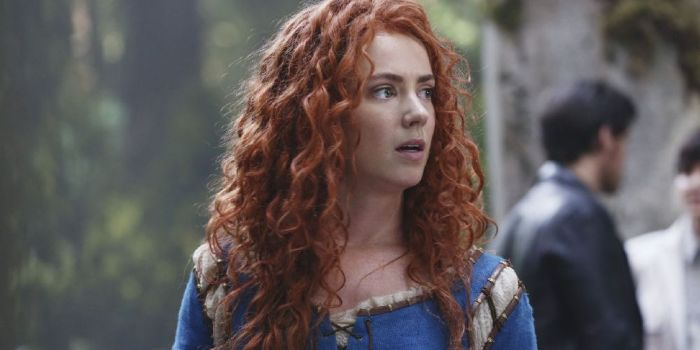 Amy Manson once upon