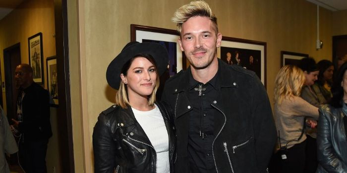 Cassadee Pope and Sam Palladio