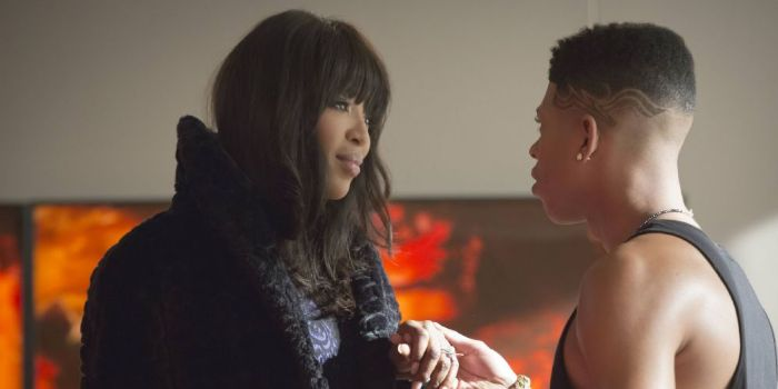 Naomi Campbell and Bryshere Gray