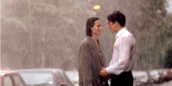Hugh Grant and Andie MacDowell