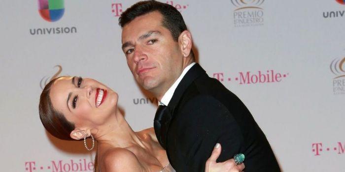 Martín Fuentes and Jacqueline Bracamontes