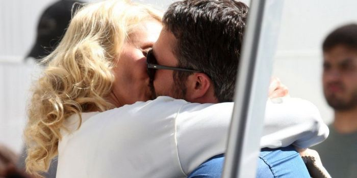 Taylor Kinney and Cameron Diaz